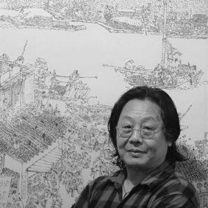 Zhu Renmin artista sostenibile e docente SPdA